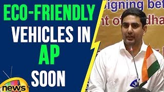 Eco-friendly vehicles in AP Soon, Toyota motors signed MoU with AP Govt | Mango News - MANGONEWS