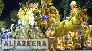Brazilians get creative with politics at Rio carnival - ALJAZEERAENGLISH