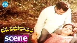 Jeevana Poratam Movie Scenes - Shobhan Babu Escapes From Police || Rajinikanth - IDREAMMOVIES