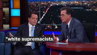 Four takeaways from Anthony Scaramucci's interview with Stephen Colbert - WASHINGTONPOST