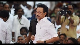 MK Stalin leaves to attend Ashok Gehlot's swearing-in ceremony - NEWSXLIVE
