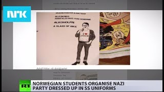 'Nazism no laughing matter': Students' 'Nazi party' sparks fury - RUSSIATODAY