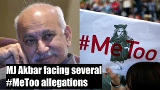 #MeToo Movement: MJ Akbar returns to India, says 'will give statement later' - NEWSXLIVE