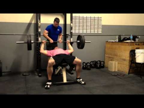 Don Bench Press 315lbs