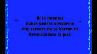 letra cancion de pegao: