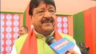 Kailash Vijayvargiya speaks on Gujarat Assembly election - NEWSXLIVE