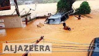 Sierra Leone appeals for 'urgent' aid for deadly mudslide disaster - ALJAZEERAENGLISH