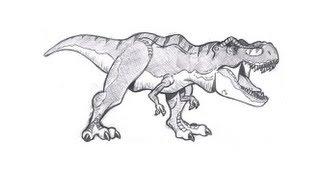 como desenhar um tiranossauro rex versão infatil youtube