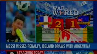 France recorded a 2-1 win over Australia in the opening group C match in the Fifa Worldcup - NEWSXLIVE