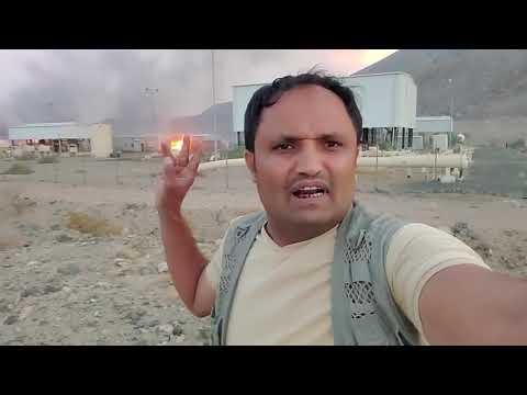 الحوثيون يستهدفون بصاروخ محطة لضخ النفط في صرواح