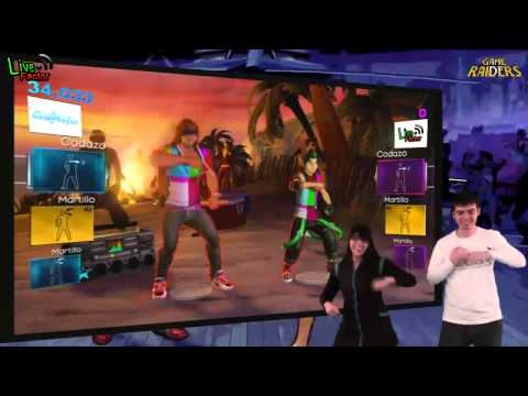 Game Raiders - Episodio 31 - Dance Central 2 - www.livefactor.cl