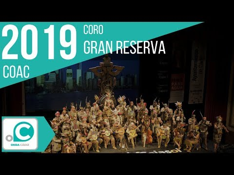 La agrupación Gran Reserva llega al COAC 2019 en la modalidad de Coros. En años anteriores (2018) concursaron en el Teatro Falla como Tiempos modernos, consiguiendo una clasificación en el concurso de Semifinales.