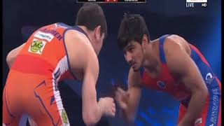 PWL 3 Day 14: Nitin Rathi Vs Vladimir Khincheshvili at Pro Wrestling League 2018 | Full match - ITVNEWSINDIA