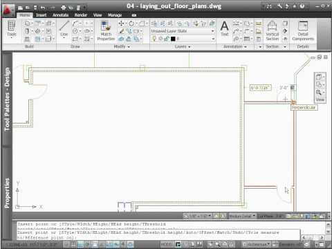 AutoCAD Architecture 2012 - Demo - Drafting
