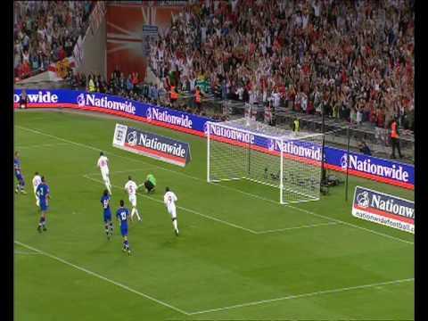 England 5 1 Kroatia-VM 2010 kvalifiseringskamp