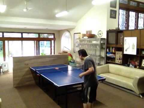 simple table tennis return board idea