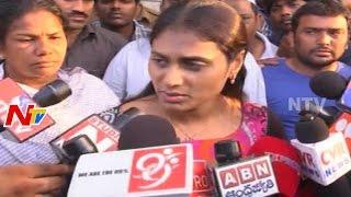YS.Sharmila Sensational Comments on AP CM Babu