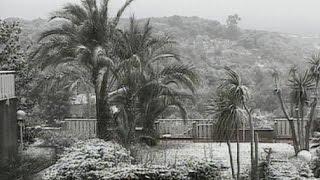 الثلوج تكسو إيطاليا في رأس السنة