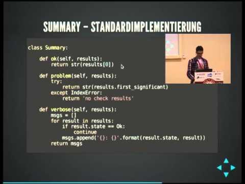 Image from nagiosplugin - eine Python-Bibliothek für Monitoring-Plugins