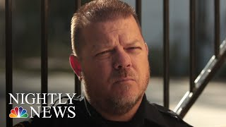 This Police Officer Used His Viral Fame To Help Communities Across The Country | NBC Nightly News - NBCNEWS