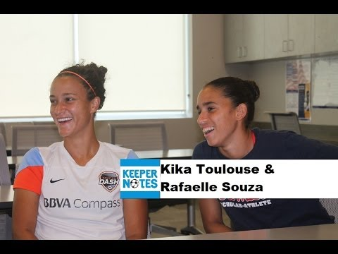 Keeper Notes - Kika Toulouse & Rafaelle Souza