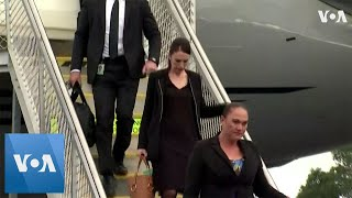 New Zealand Prime Minister Arrives in Christchurch Ahead of Victims' Burial - VOAVIDEO