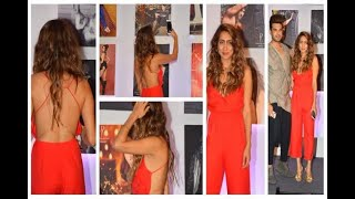 In Graphics:  Anusha Dandekar Looks Hot at Dabboo Ratnani Calendar Launch 2018 - ABPNEWSTV