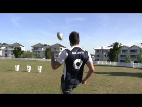 Amazing Skills at Rugby Training - CA Technologies Brumbies