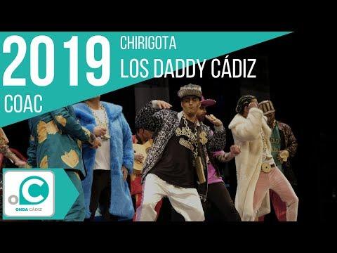 Sesión de Cuartos de final, la agrupación Daddy Cadi actúa hoy en la modalidad de Chirigotas.