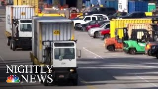 China Hits Back At President Trump, Adds Tariffs To $60B Of U.S.-Made Products | NBC Nightly News - NBCNEWS