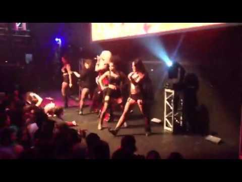 Ashleigh Elliott live at Club Tigerheat Hollywood