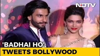 Just Married, Deepika And Ranveer. 'Badhai Ho,' Tweets Bollywood - NDTV