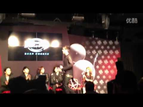 Adam Lambert - press conference for Hennessy event in Shanghai. 01.12.12 (part1)
