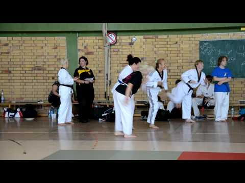 Rugby TKD / Russelsheim Twining 2012 - Rugby FMA Tae Kwon Workout Rugby TaeKwonDo