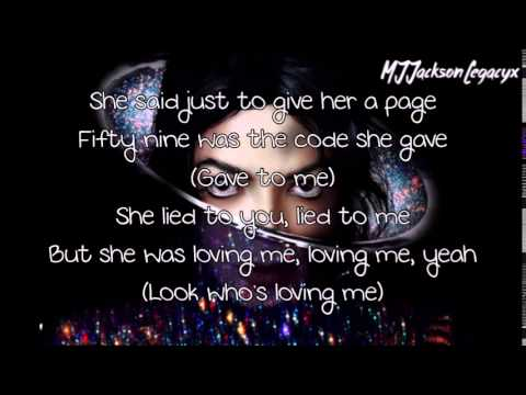 Michael Jackson - Chicago (Lyrics)