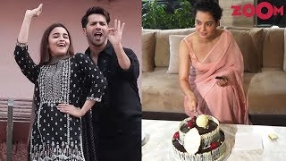 Kangana celebrates Birthday with media | Varun & Alia dance at the First Class song launch - ZOOMDEKHO