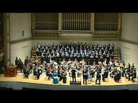 �s�w���| �H�Q��  Mendelssohn's Elijah, conducted by Ann Howard Jones