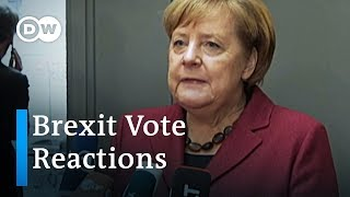 Brexit vote reactions and analysis | DW News - DEUTSCHEWELLEENGLISH