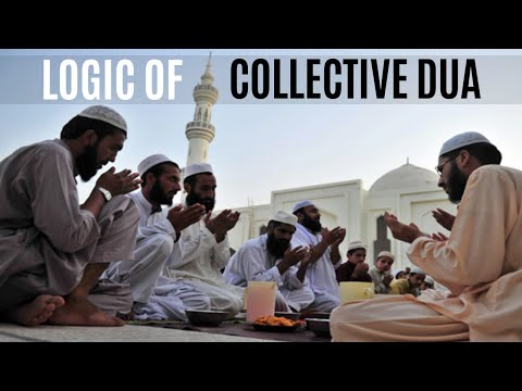 [ENG] Logic of Collective Dua- Maulana Ilyas Ghuman