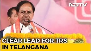 KCR's Gamble Pays Off, Set To Retain Telangana, Show Exit Polls - NDTV
