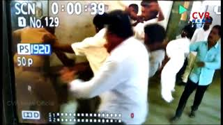 CCTV Footage : Villagers beats polling officer | Nalgonda Dist | CVR News - CVRNEWSOFFICIAL
