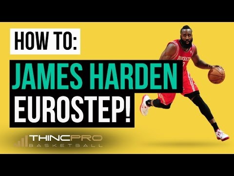 How to - James Harden #1 Basketball Move to SCORE MORE POINTS (Must See - Eurostep Move Breakdown)