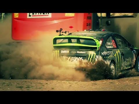 DiRT 3 - Official Battersea Power Station feat. Ken Block Gymkhana (2011) | HD