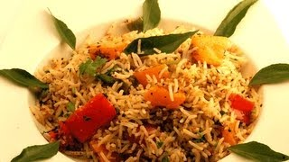 Capsicum Fried Rice ..