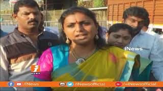 YSRCP MLA Roja Reacts On Casting Couch Issues In TFI | Offers Special Prayers At Tirumala | iNews - INEWS