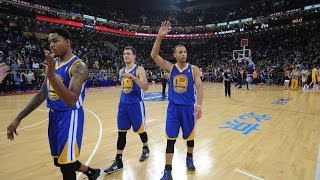 Stephen Curry Drops 24 Against Lakers In China