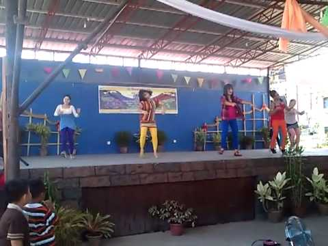 Holy Trinity Youth (DANCE PERFORMANCE) at St. Dominic, Lahad Datu for San Juan Fiesta