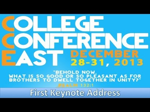 OCF CC East 2013: First Keynote Address