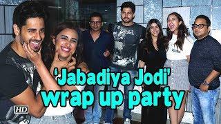 Sidharth, Parineeti at 'Jabadiya Jodi' wrap up part - BOLLYWOODCOUNTRY