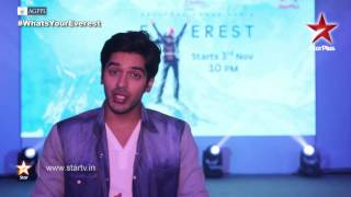 Rohan Gandotra talks about his character Aakaash Joshi in EVEREST - STARPLUS